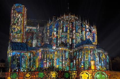 Nuit des Chimères 2010 - Spectacle gratuit de projections animées